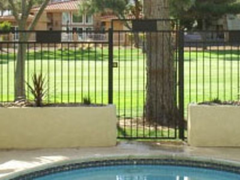 Modern Fencing F0054A Wrought Iron Design In Las Vegas