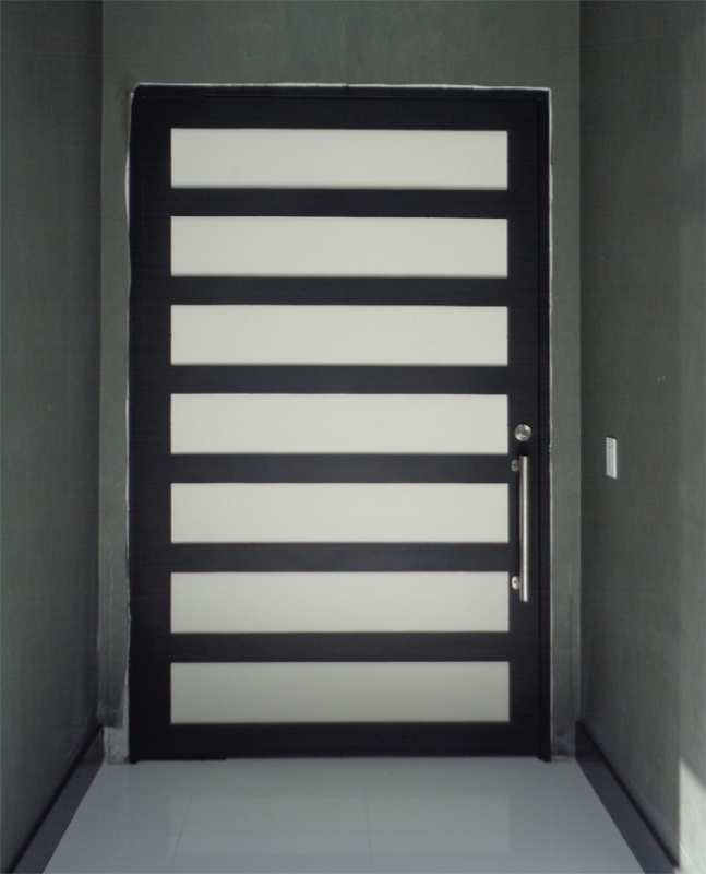 Modern Front Door - Item La Brea GE0173 Wrought Iron Design In Las Vegas
