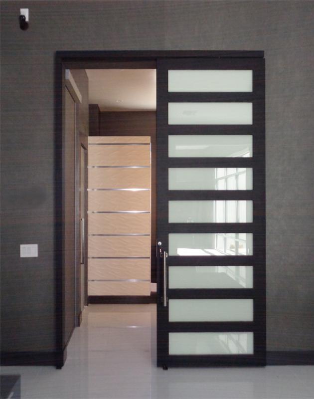 Modern Front Door - Item La Brea GE0173A_Open Wrought Iron Design In Las Vegas