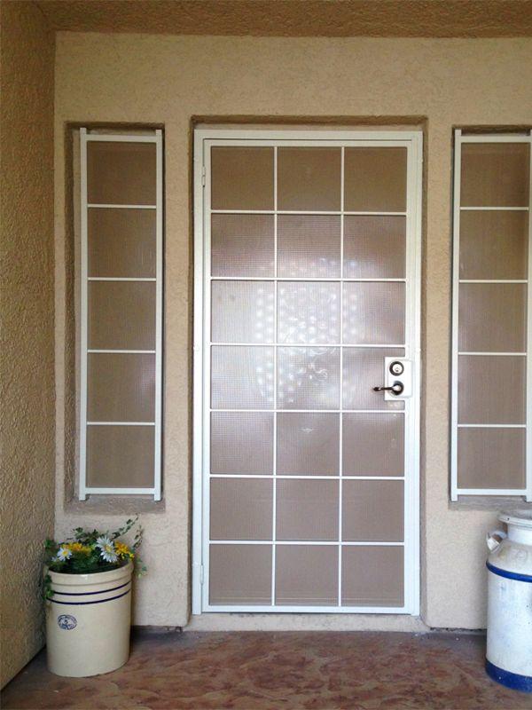 Modern Window Guard SD0005 Wrought Iron Design In Las Vegas