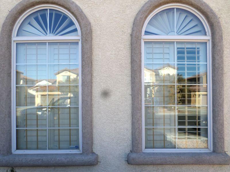 Modern Window Guard WG0107 Wrought Iron Design In Las Vegas