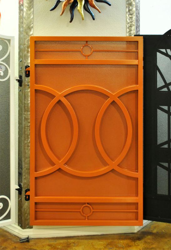 Modern Single Gate - Item Olympia SG0499 Wrought Iron Design In Las Vegas