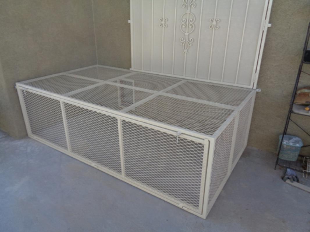 Pet Cage - Item PC0003 Wrought Iron Design In Las Vegas