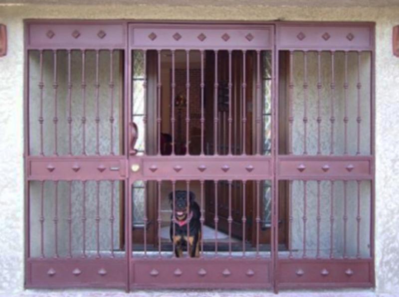 Pet Gate - Item PG0001 Wrought Iron Design In Las Vegas