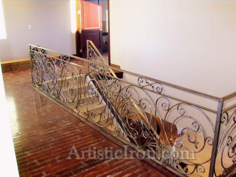 Traditional-Interior Railing-Item IR0053 Wrought Iron Design In Las Vegas