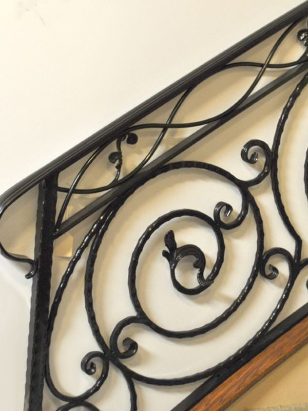 Nature inspired-Interior Railing-Item IR0070 Wrought Iron Design In Las Vegas