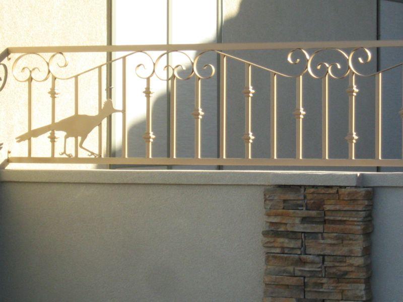 Plasma Cut Block and Iron BI0075 Wrought Iron Design In Las Vegas