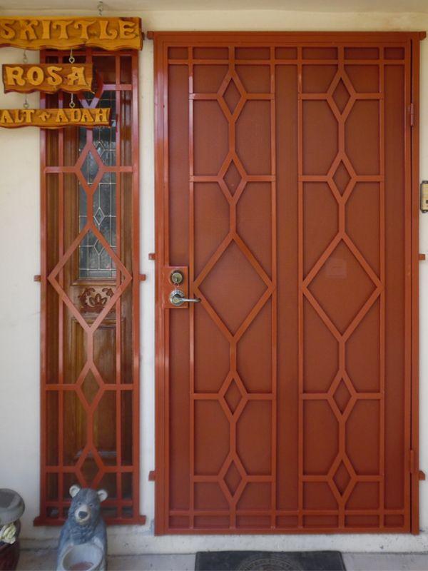 Plasma Cut Window Guard SD0263 Wrought Iron Design In Las Vegas