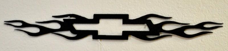 Powder Coat Chevy Sign Wrought Iron Design In Las Vegas