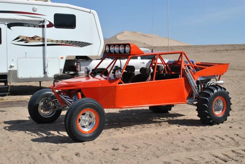 Powder Coat Dune Buggy Wrought Iron Design In Las Vegas