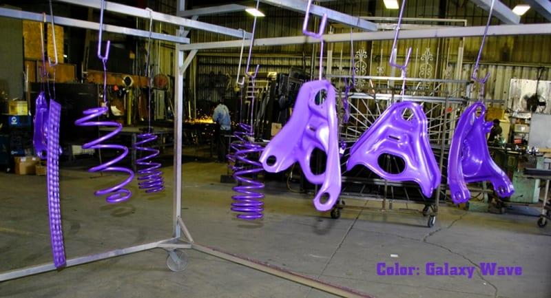 Powder Coat Galaxy Wave Wrought Iron Design In Las Vegas
