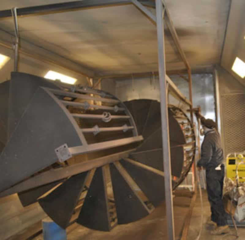 Powder Coat Ovens Wrought Iron Design In Las Vegas