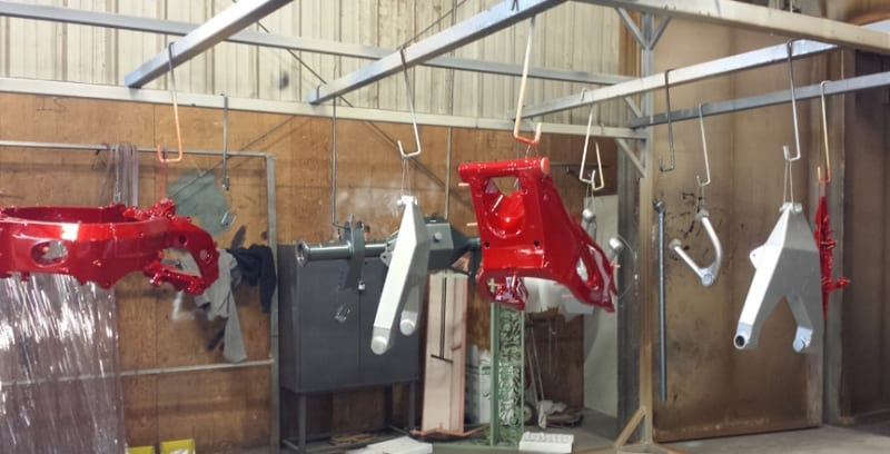 Powder Coat Truck Bike Parts Wrought Iron Design In Las Vegas