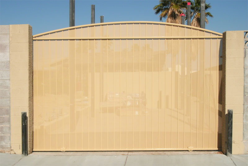 Rolling Gate DG0166 Wrought Iron Design In Las Vegas