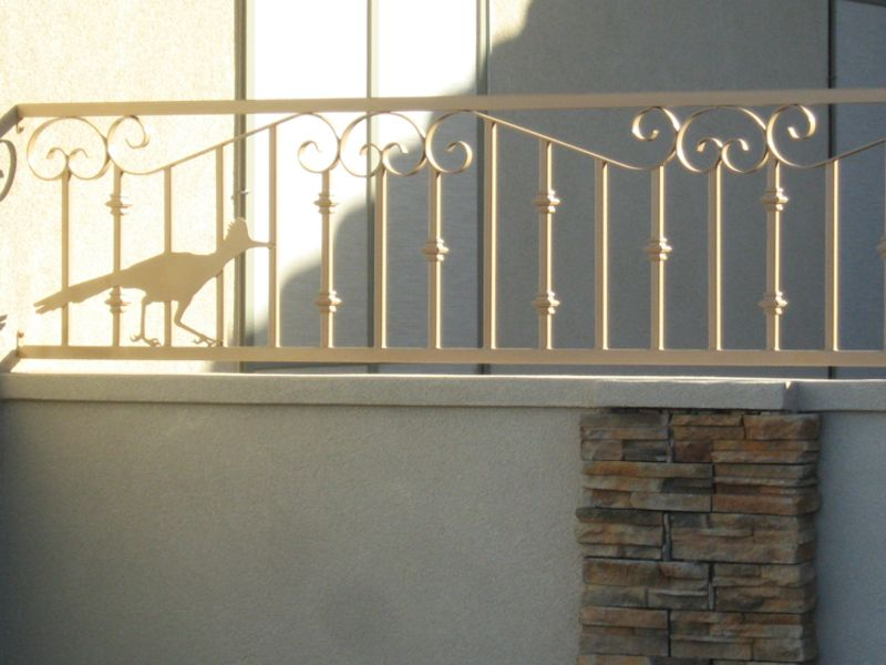 Scrollwork Iron and Block BI0075 Wrought Iron Design In Las Vegas