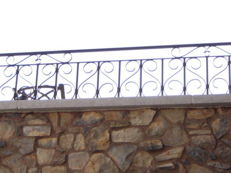 Scrollwork Iron and Block BI0080 Wrought Iron Design In Las Vegas