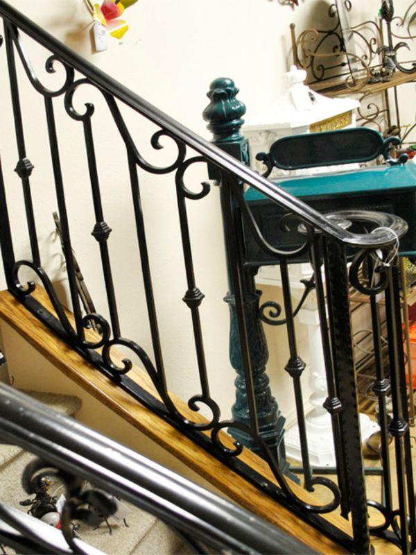 Traditional-Interior Railing-Item IR0126 Wrought Iron Design In Las Vegas
