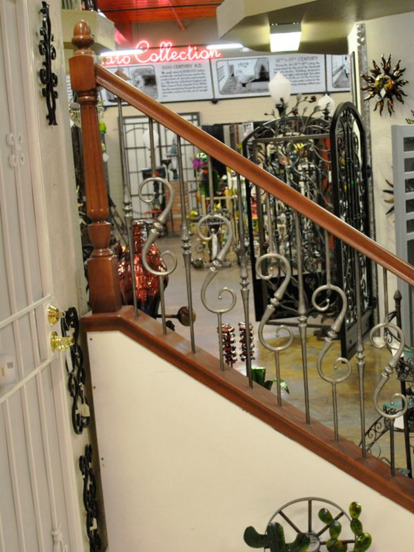 Traditional-Interior Railing-Item IR0211 Wrought Iron Design In Las Vegas