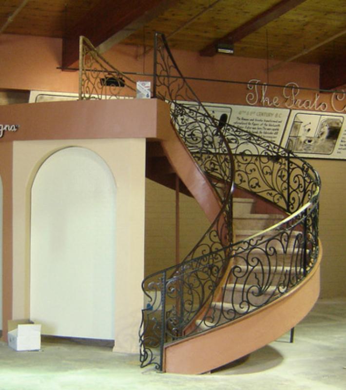 Spiral Stairs - Item SS0015 Wrought Iron Design In Las Vegas