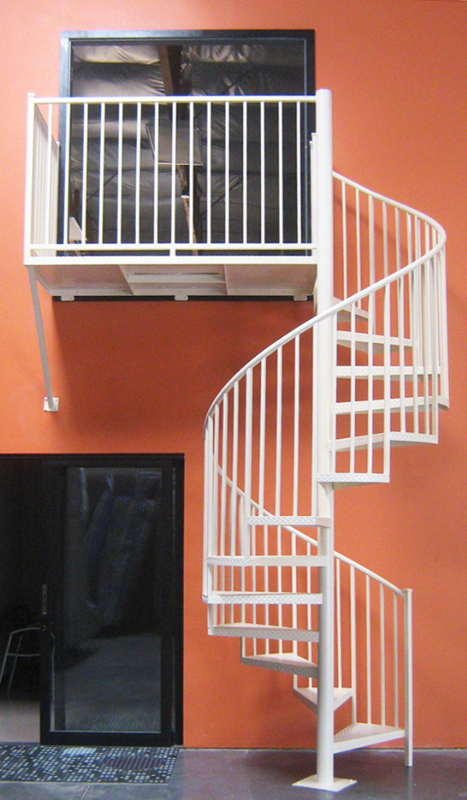 Spiral Stairs - Item SS0019 Wrought Iron Design In Las Vegas