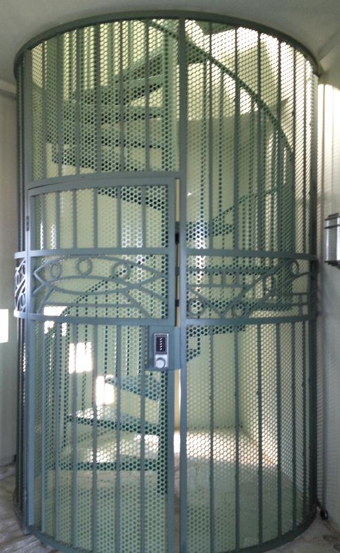 Spiral Stairs - Item SS0027 Wrought Iron Design In Las Vegas
