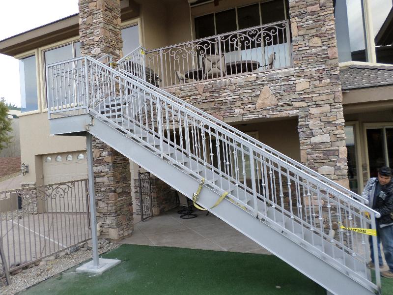 Standard Stairs Esme - Item SS0002 Wrought Iron Design In Las Vegas
