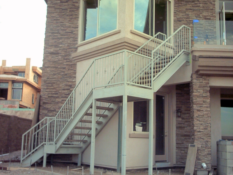 Standard Stairs Esme - Item SS0004 Wrought Iron Design In Las Vegas