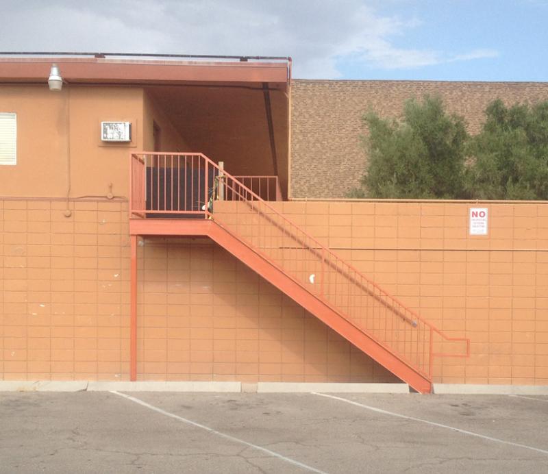 Standard Stairs Esme - Item SS0005 Wrought Iron Design In Las Vegas