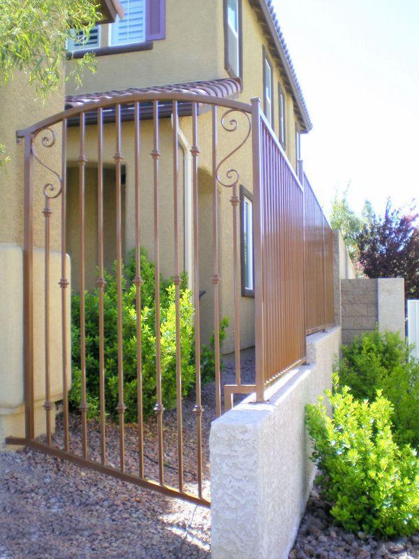 Traditional Block and Iron BI0002 Wrought Iron Design In Las Vegas
