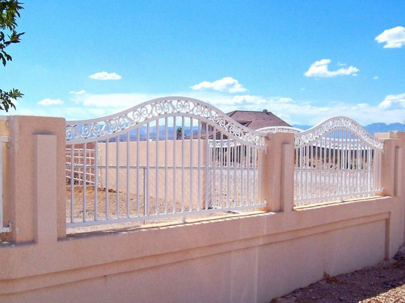 Traditional Block and Iron BI0008 Wrought Iron Design In Las Vegas