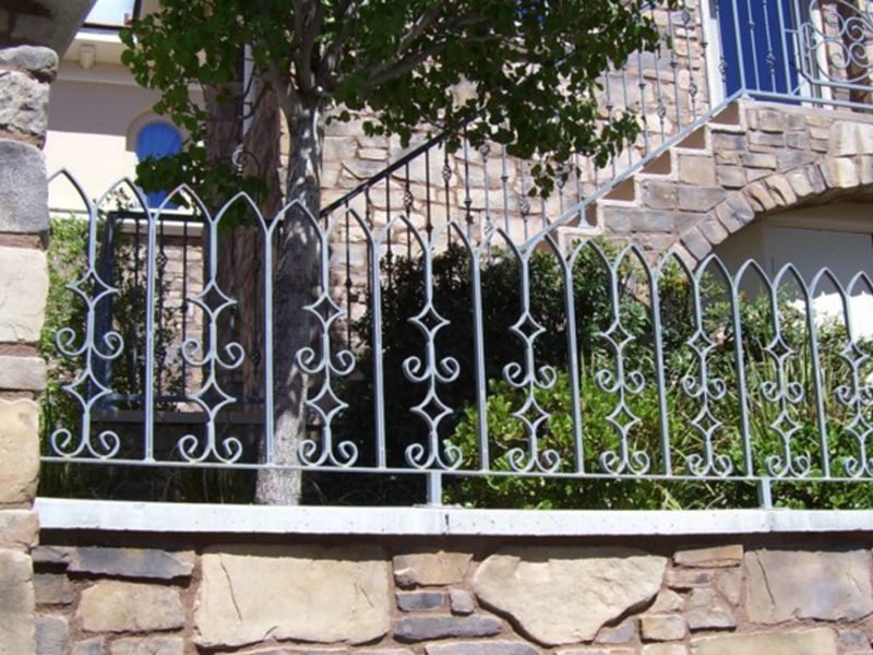 Traditional Block and Iron BI0010 Wrought Iron Design In Las Vegas