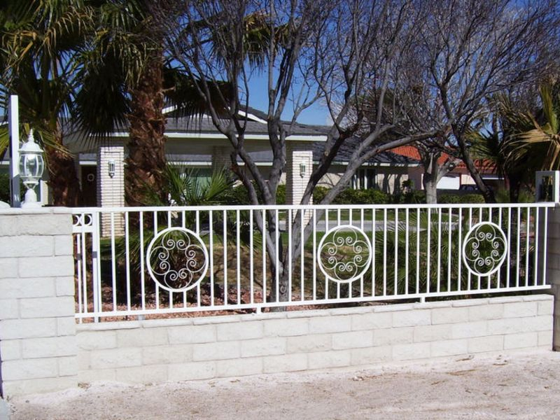 Traditional Block and Iron BI0013 Wrought Iron Design In Las Vegas