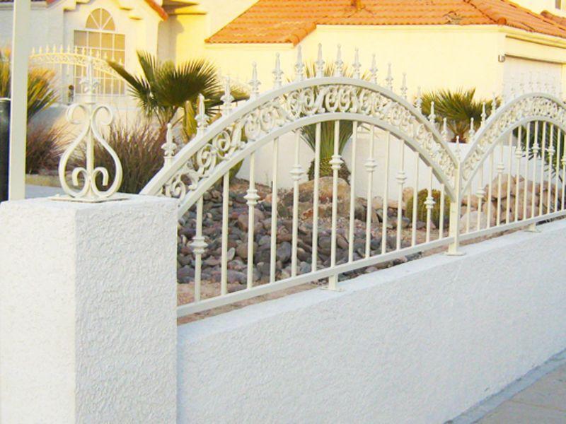 Traditional Block and Iron BI0014A Wrought Iron Design In Las Vegas