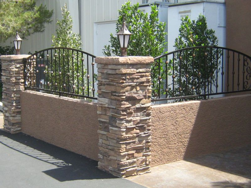 Traditional Block and Iron BI0023 Wrought Iron Design In Las Vegas