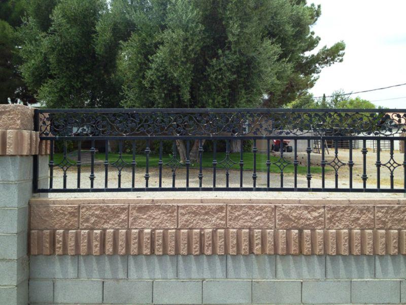 Traditional Block and Iron BI0067 Wrought Iron Design In Las Vegas
