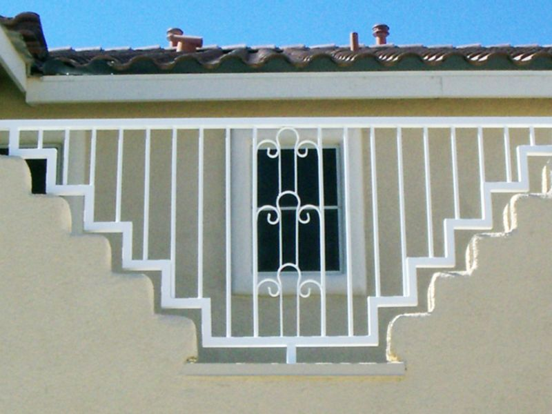 Traditional Block and Iron BI0082 Wrought Iron Design In Las Vegas