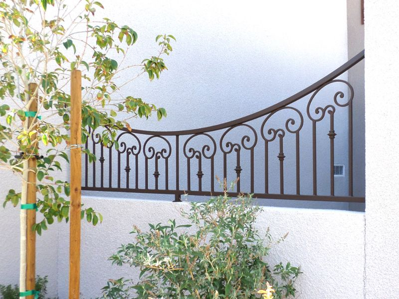 Traditional Block and Iron BI0093 Wrought Iron Design In Las Vegas