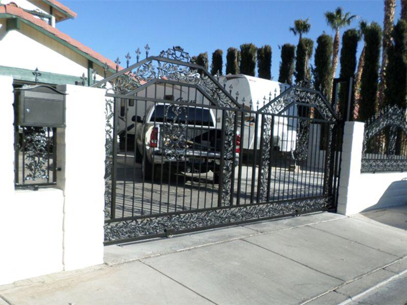 Traditional Block and Iron BI0094 Wrought Iron Design In Las Vegas