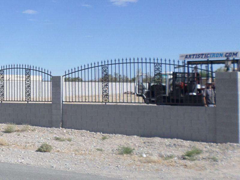 Traditional Block and Iron BI0108 Wrought Iron Design In Las Vegas
