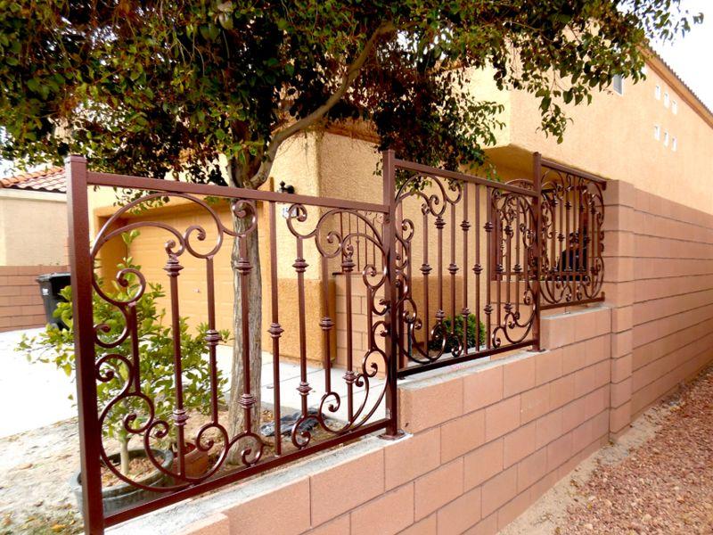 Traditional Block and Iron BI0117 Wrought Iron Design In Las Vegas