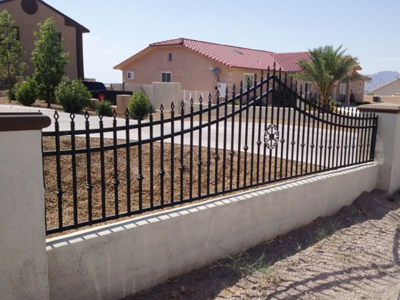 Traditional Block and Iron BI0129 Wrought Iron Design In Las Vegas