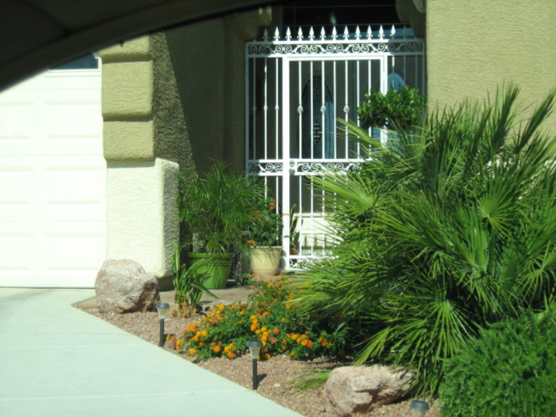 Traditional Custom Archive Entryway Door - Item EW0082 Wrought Iron Design In Las Vegas