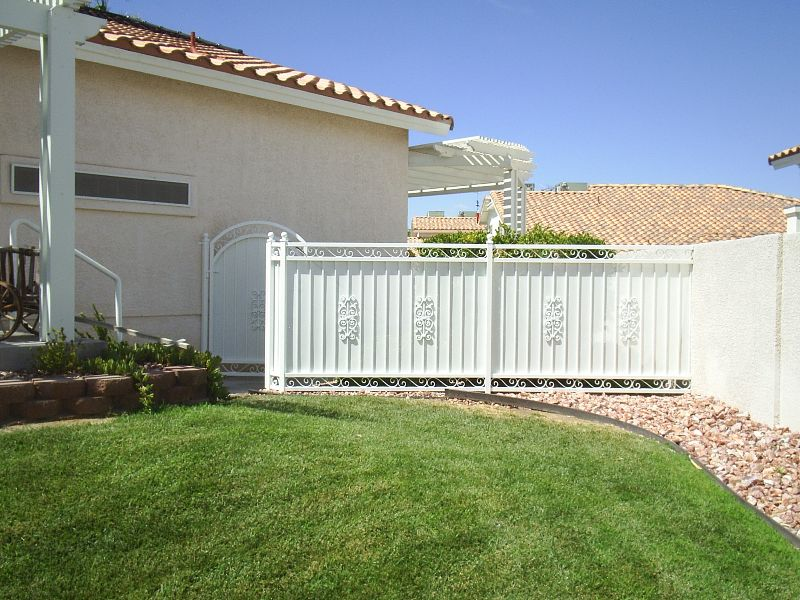 Traditional Fencing F0060 Wrought Iron Design In Las Vegas