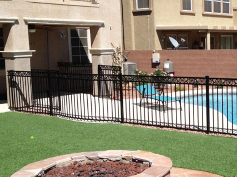 Traditional Fencing F0094 Wrought Iron Design In Las Vegas