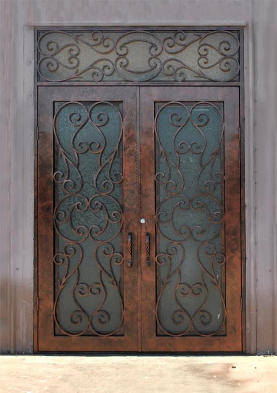 Traditional Front Door - Item Biscay GE0164 Wrought Iron Design In Las Vegas