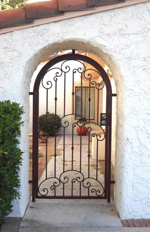 Traditional Valetta Entryway Door - Item EW0387B Wrought Iron Design In Las Vegas