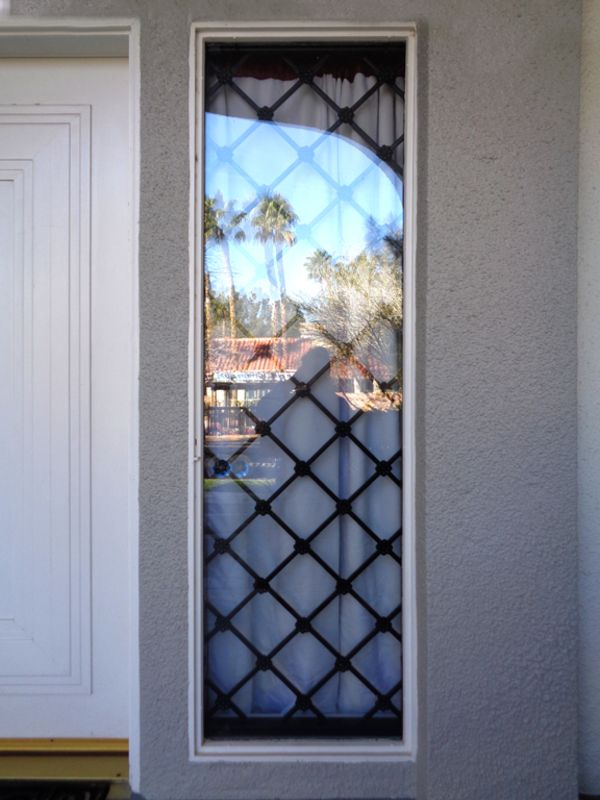 Traditional Window Guard WG0127 Wrought Iron Design In Las Vegas