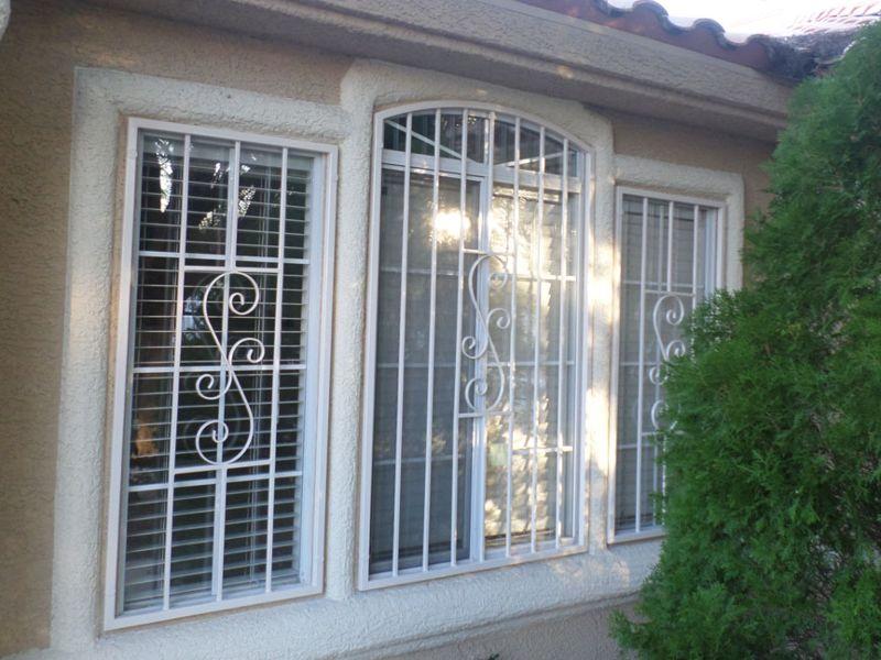 Traditional Window Guard WG0130 Wrought Iron Design In Las Vegas