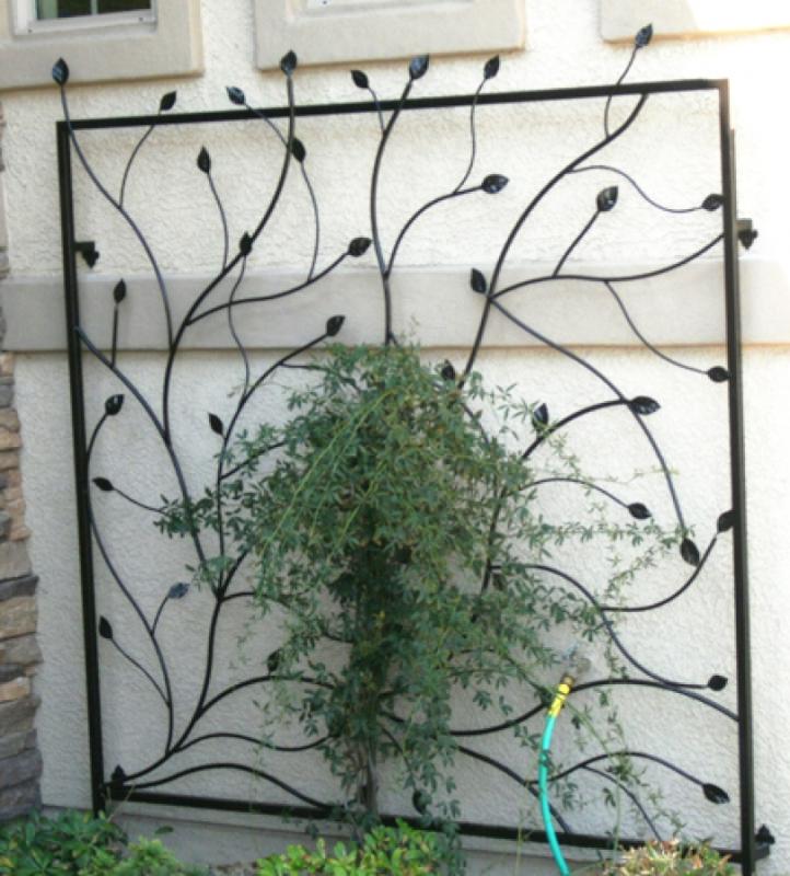 Trellis - Item TRE0002 Wrought Iron Design In Las Vegas