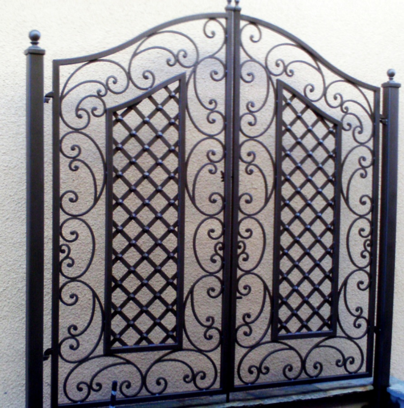 Trellis - Item TRE0004 Wrought Iron Design In Las Vegas